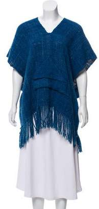Ulla Johnson Woven Knit Poncho
