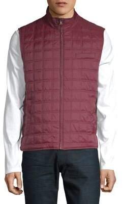 Black & Brown Black Brown Box Quilted Vest
