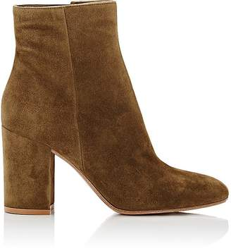 Gianvito Rossi Women's Rolling Suede Ankle Boots