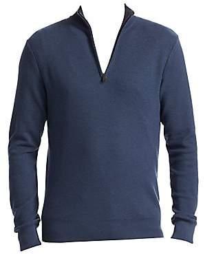 Ralph Lauren Purple Label Men's Half Zip Sweater