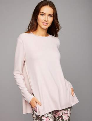 A Pea in the Pod Hacci Ribbed Shoulder Maternity Sleep Top