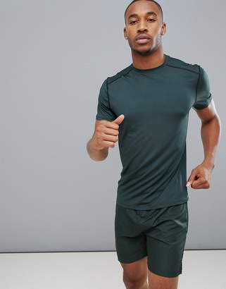 New Look SPORT stretch t-shirt in green