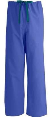 Medline Unisex AngelStat Reversible Classic Fit Drawstring Scrub Pants