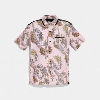 Coach Printed Short Sleeve Shirt