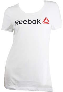 Reebok Sport T-Shirt LINEAR READ SCOOP TEE SHIRT Damen T shirt Neu