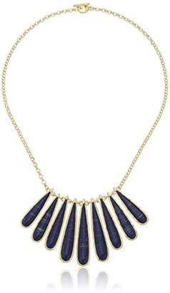 Karen Kane Tidal Wave Statement Collar Necklace