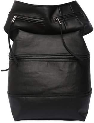 Rick Owens Coated Denim Cargo Belt Bag