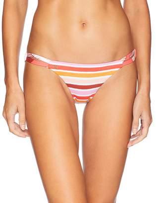 Maaji Women's Bom Dia Beaches Signature Cut Bikini Bottom Swimsuit Bomb Multi Large