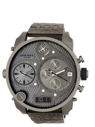 Diesel Men&s Mr Daddy Bracelet Watch $375 thestylecure.com