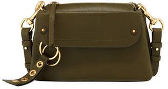 See by Chloe Phil Pebbled Leather Shoulder Bag