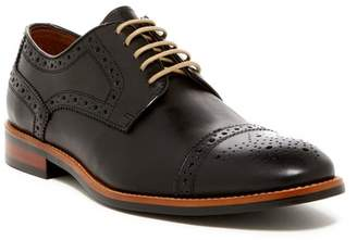 Gordon Rush Medallion Cap Toe Derby - Wide Width Available