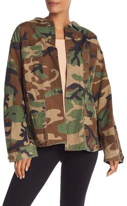 KENDALL + KYLIE Kendall & Kylie Reversible Camo Jacket
