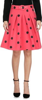Moschino Knee length skirts - Item 35369609QD