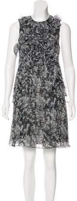 Richard Chai Silk Mini Dress