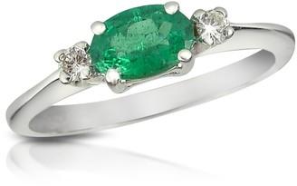 Tagliamonte Incanto Royale Emerald and Diamond 18K Gold Ring