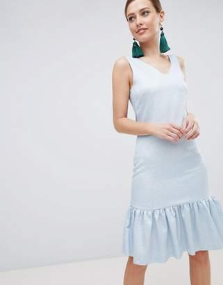 Closet London Drop Hem Sleeveless Dress