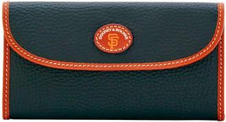 Dooney & Bourke MLB Giants Continental Clutch