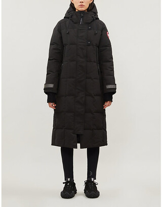 Canada Goose Elmwood quilted shell-down parka coat