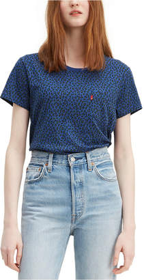 Levi's Cotton Printed Perfect T-Shirt