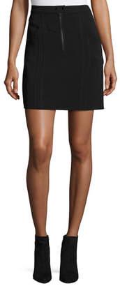 A.L.C. Porter A-Line Crepe Mini Skirt