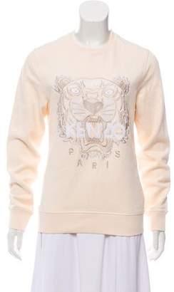 Kenzo Embroidered Motif Sweatshirt