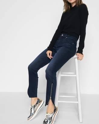 7 For All Mankind B(air) Denim Ankle Skinny with Tulip Zipper Hem in Park Avenue