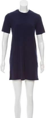 Reformation Rib Knit T Shirt Dress