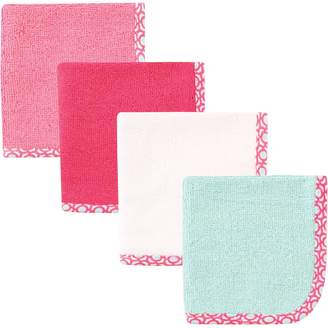 Hudson Baby Print Woven Washcloth