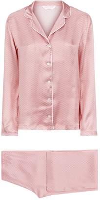 Derek Rose Brindisi Silk Pyjama Set