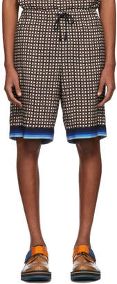 Dries Van Noten Brown Perka Shorts