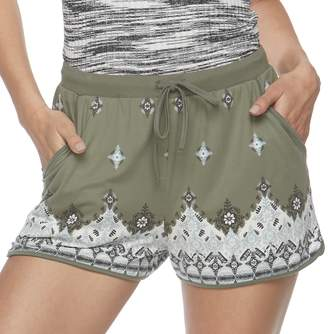 Mudd Juniors' Peached Shorts