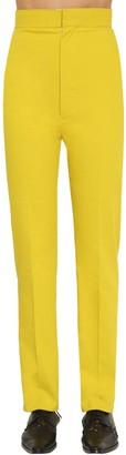 Haider Ackermann High Waist Dover Cotton Trousers