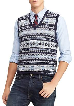 Polo Ralph Lauren Fair-Isle Sweater Vest