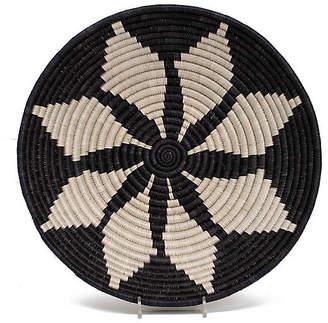 "All Across Africa 12"" Pepo Decorative Bowl - Black/Beige"