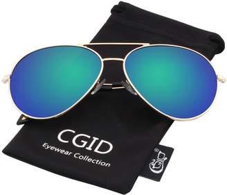 9578c25daf Polaroid CGID Sunglasses Polarized for Woenirrored Pilot Sun Glasses  Shadesirror UV400 Protection Dark Glasses 100%