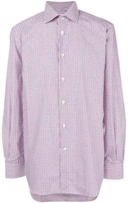Kiton classic collared shirt
