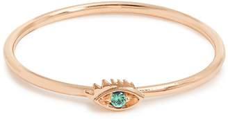 Delfina Delettrez Emerald & rose-gold ring