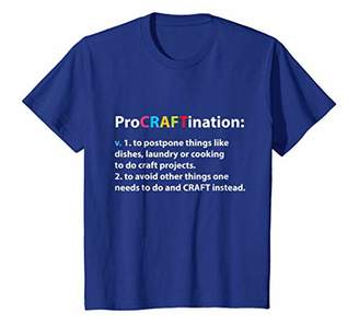 ProCRAFTination Crafting to Avoid Other Things T-Shirt