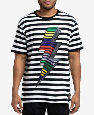 Hudson Nyc Men's Striped Volt T-Shirt
