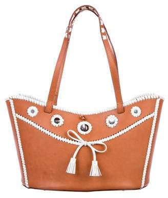 Anya Hindmarch Smooth Leather Tote