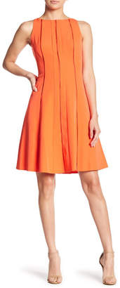 Maggy London Dream Crepe Fit & Flare Dress