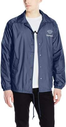 Diamond Supply Co. Men's OG Script Brilliant Coaches Jacket