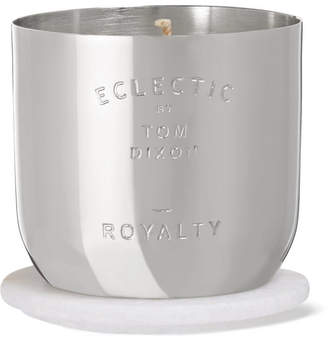 Tom Dixon Royalty Scented Candle, 260g - Silver