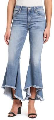 Mavi Jeans Larissa High/Low Flare Hem Jeans