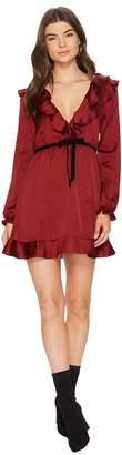 For Love & Lemons Bette Open Back Mini Dress Women's Dress