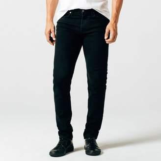 DSTLD Skinny-Slim Jeans in Jet Black