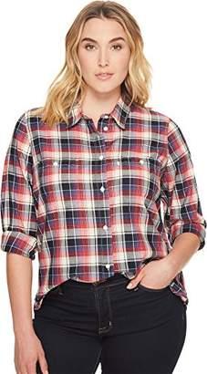 Levi's Women's Plus-Size Workwear Boyfriend Shirt