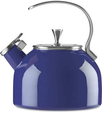 Kate Spade All in Good Taste Cobalt Tea Kettle