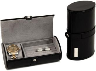 Bey-Berk Watch & Cufflink Travel Case