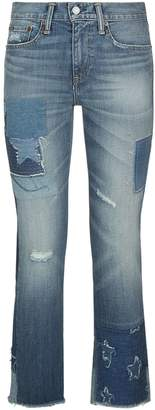 Polo Ralph Lauren Waverly Distressed Cropped Jeans